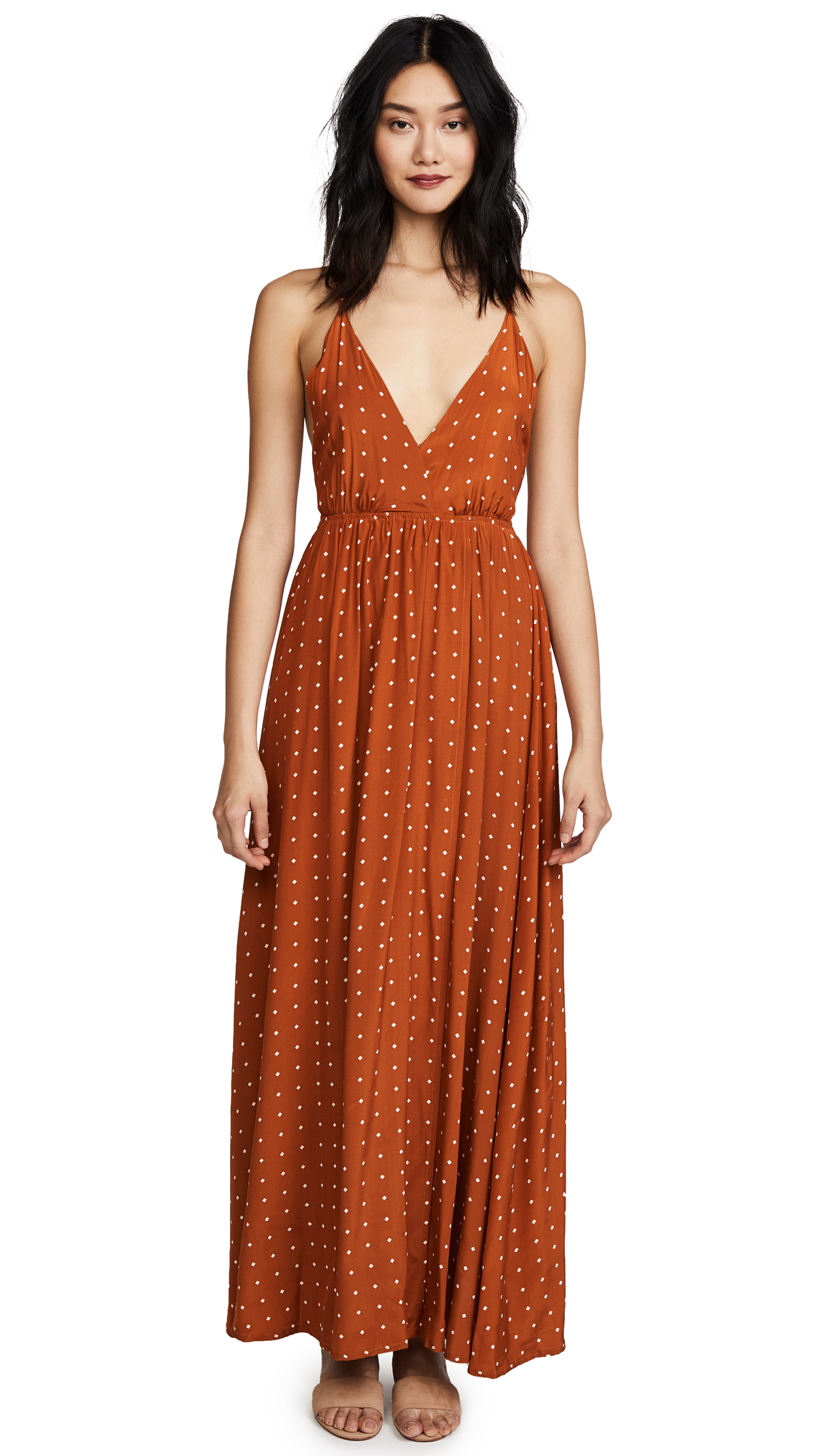 FAITHFULL THE BRAND Santa Rosa Maxi Dress - Stefano Print