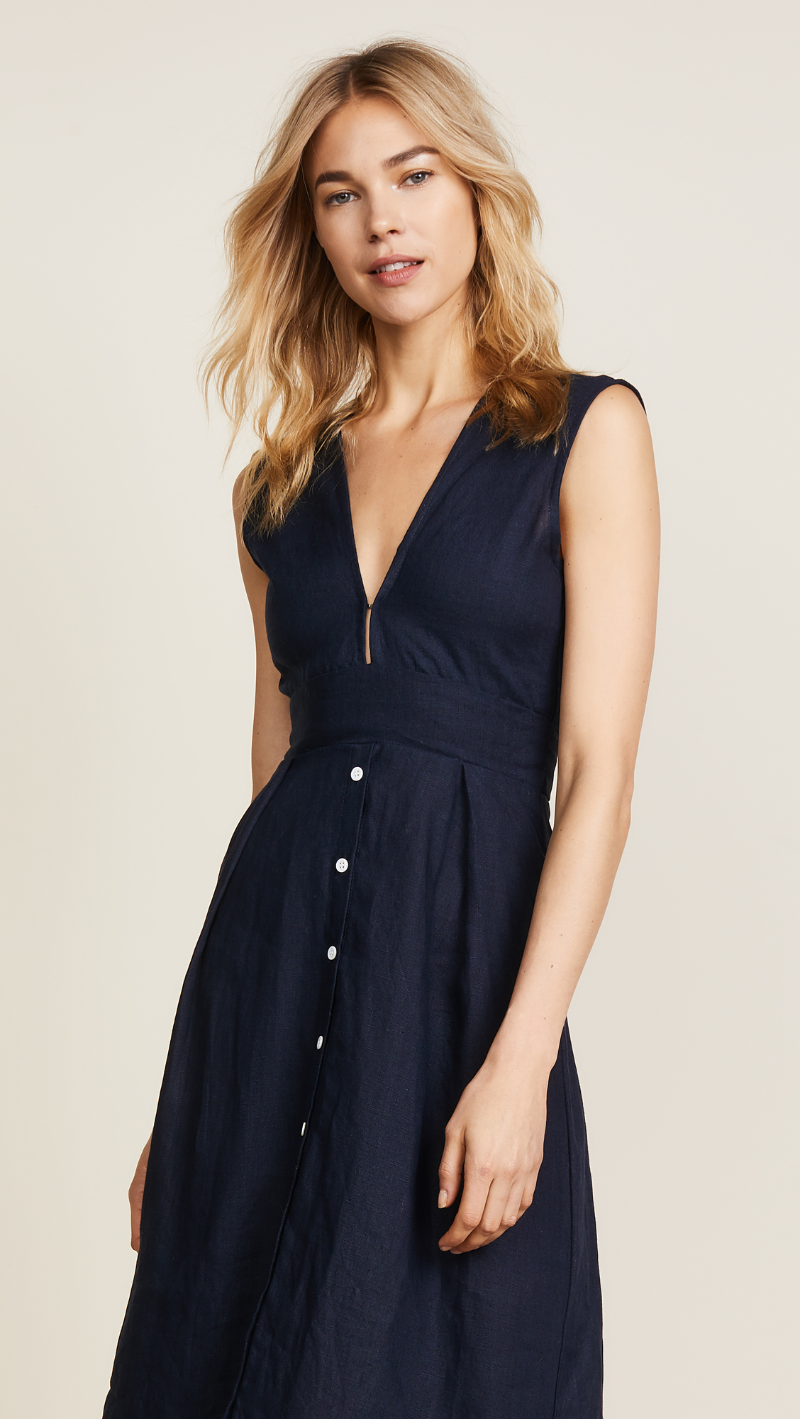 7a64b0c5992 FAITHFULL THE BRAND Le Roch Midi Dress