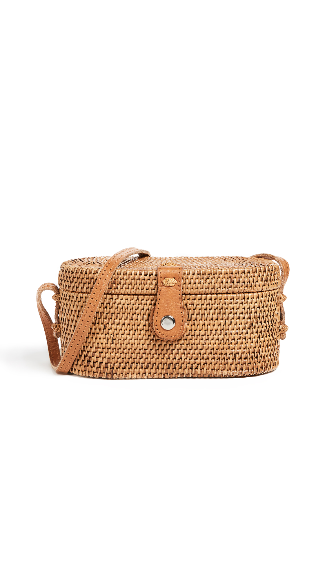 FAITHFULL THE BRAND Camila Cross Body Box Bag - Natural