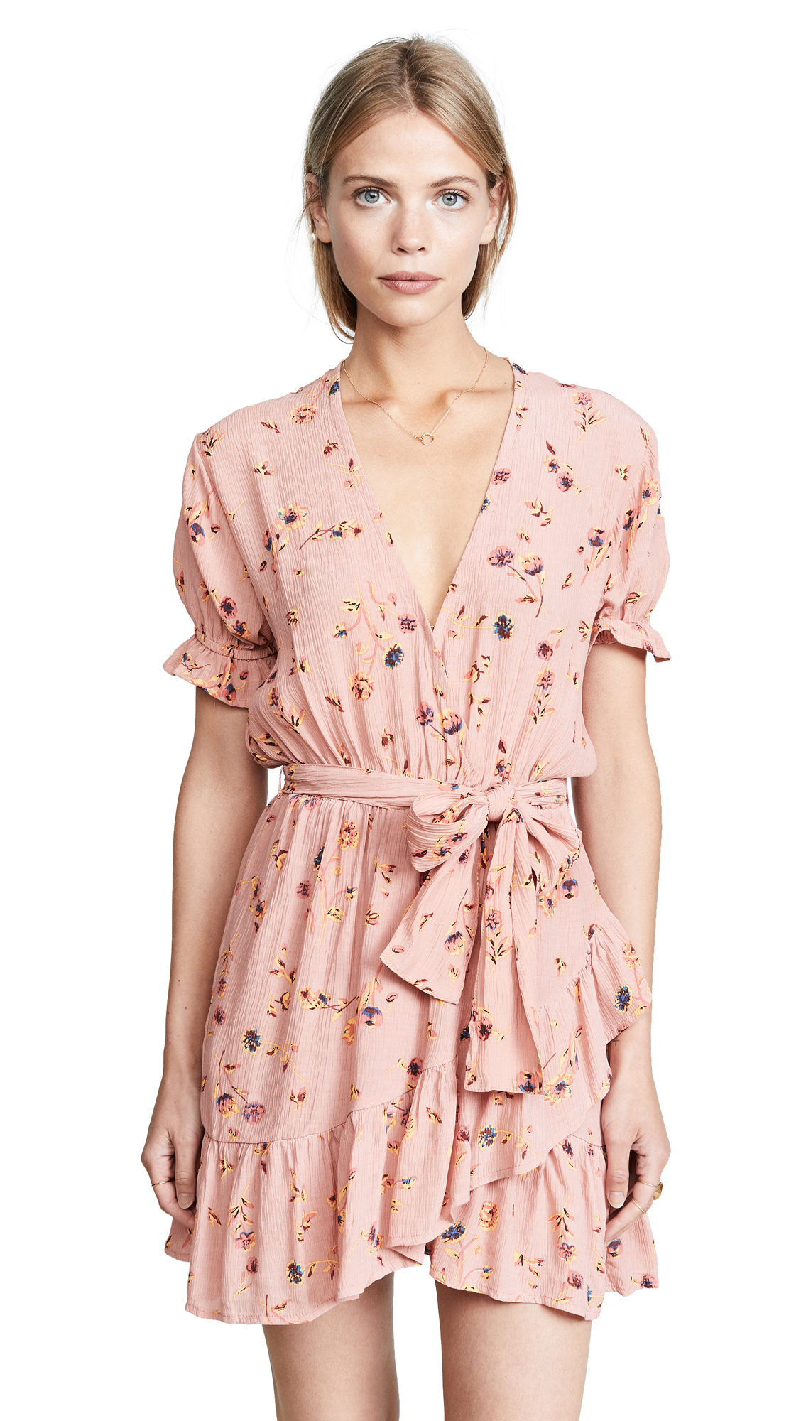 FAITHFULL THE BRAND Le Moulin Dress In Salina Floral Print