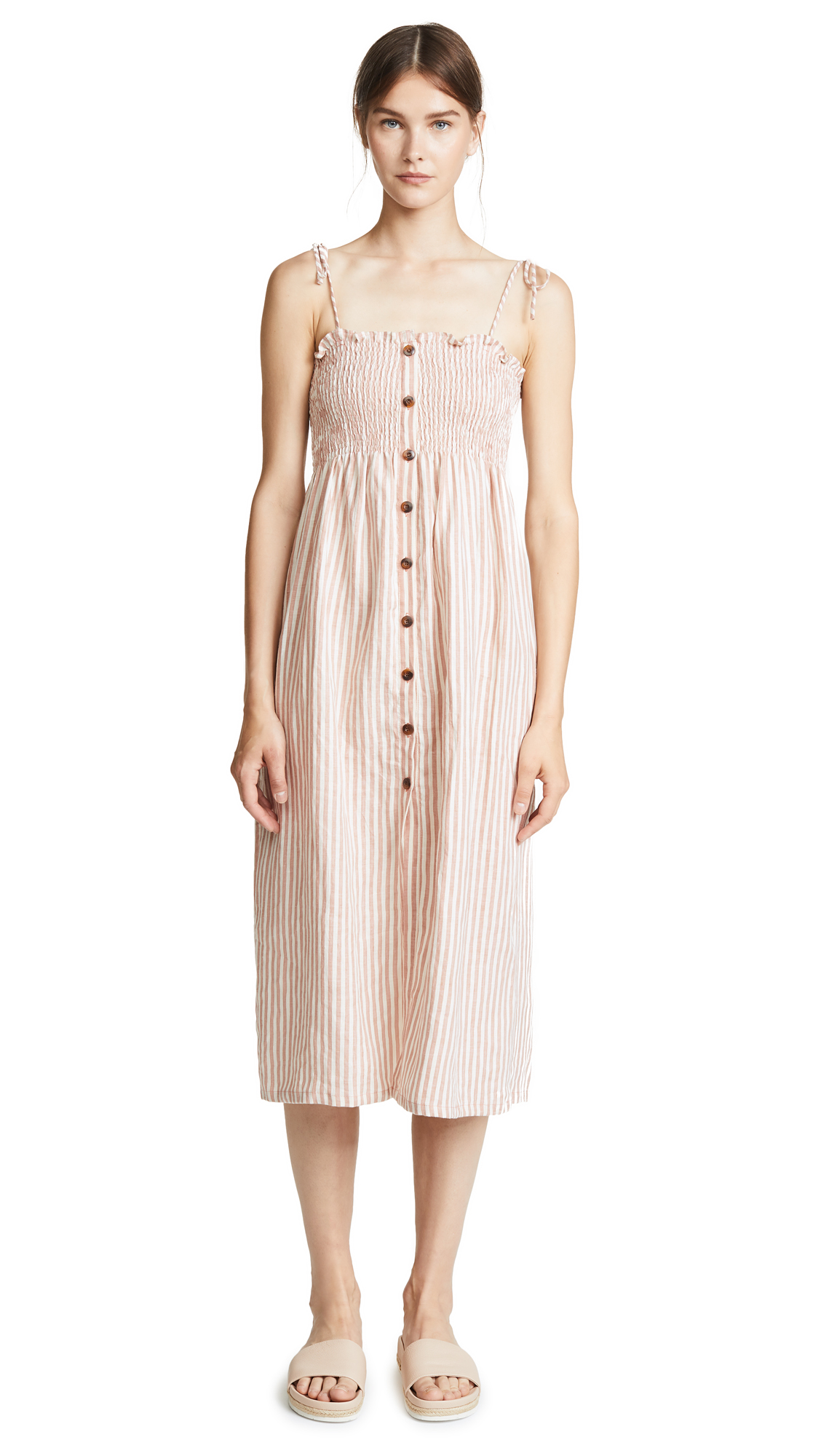 FAITHFULL THE BRAND Suki Midi Dress