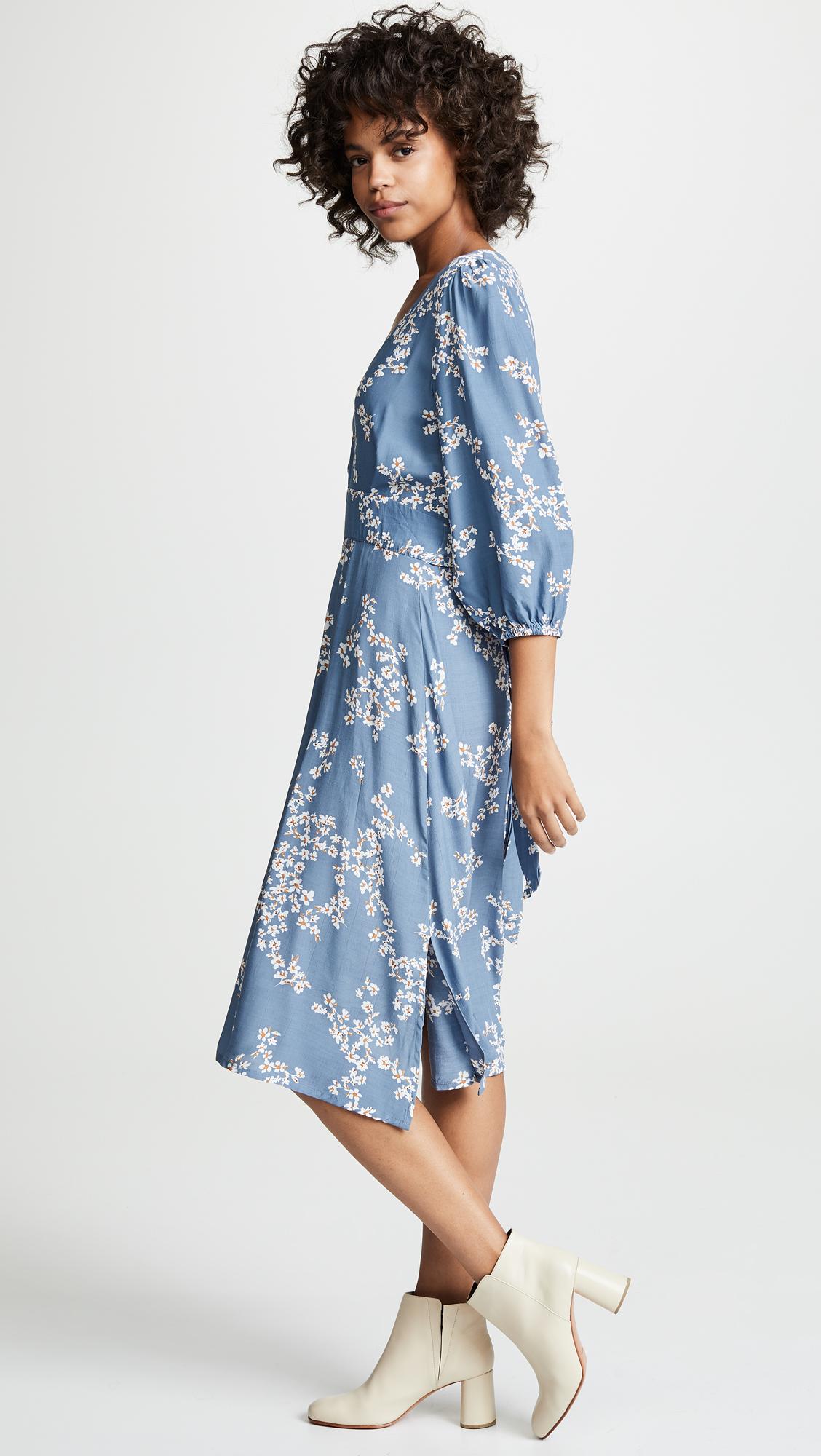 1af42a1a114f FAITHFULL THE BRAND Chloe Midi Dress