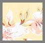 pomeline с цветочным принтом