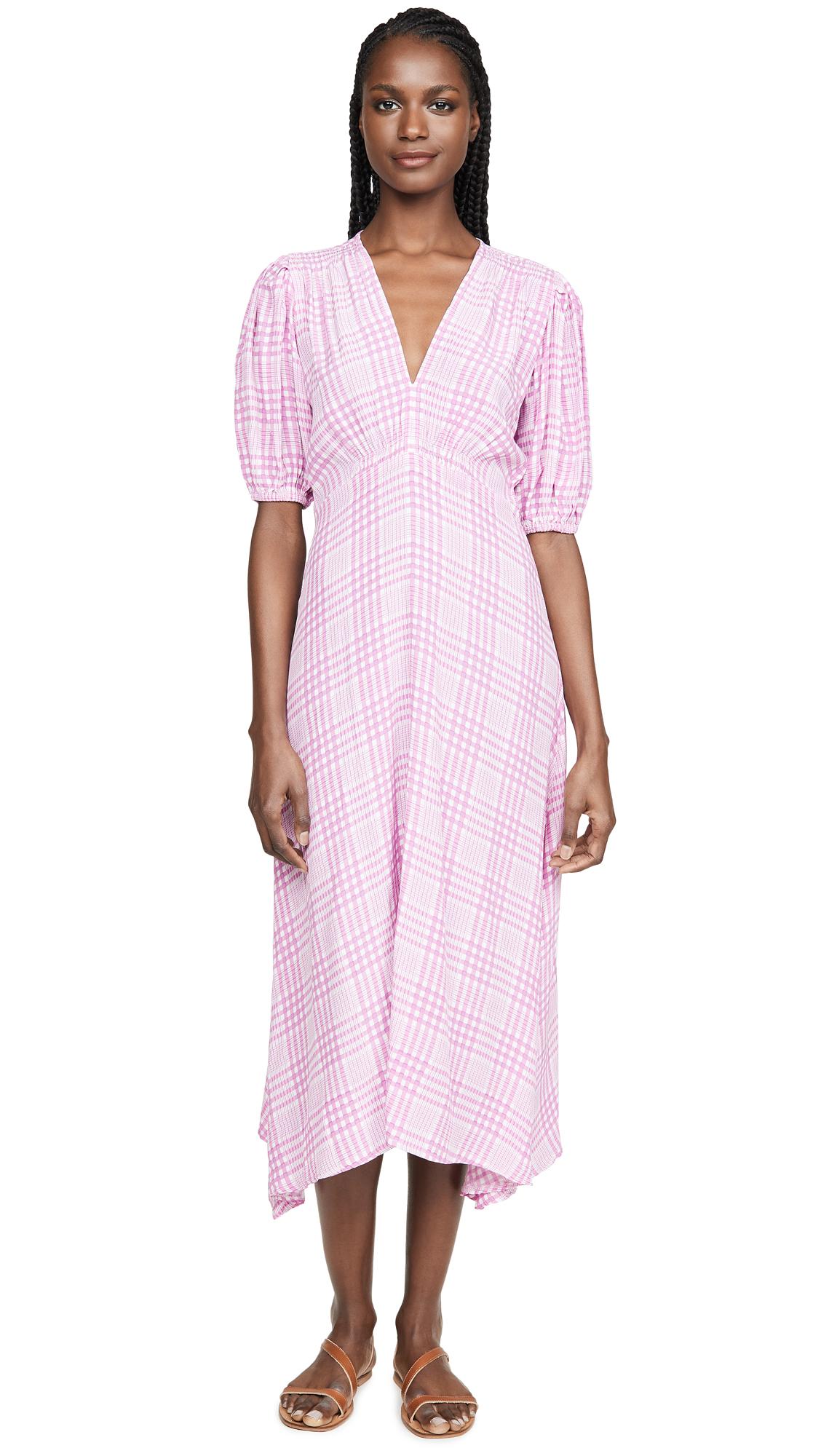 Buy FAITHFULL THE BRAND online - photo of FAITHFULL THE BRAND Vittoria Midi Dress