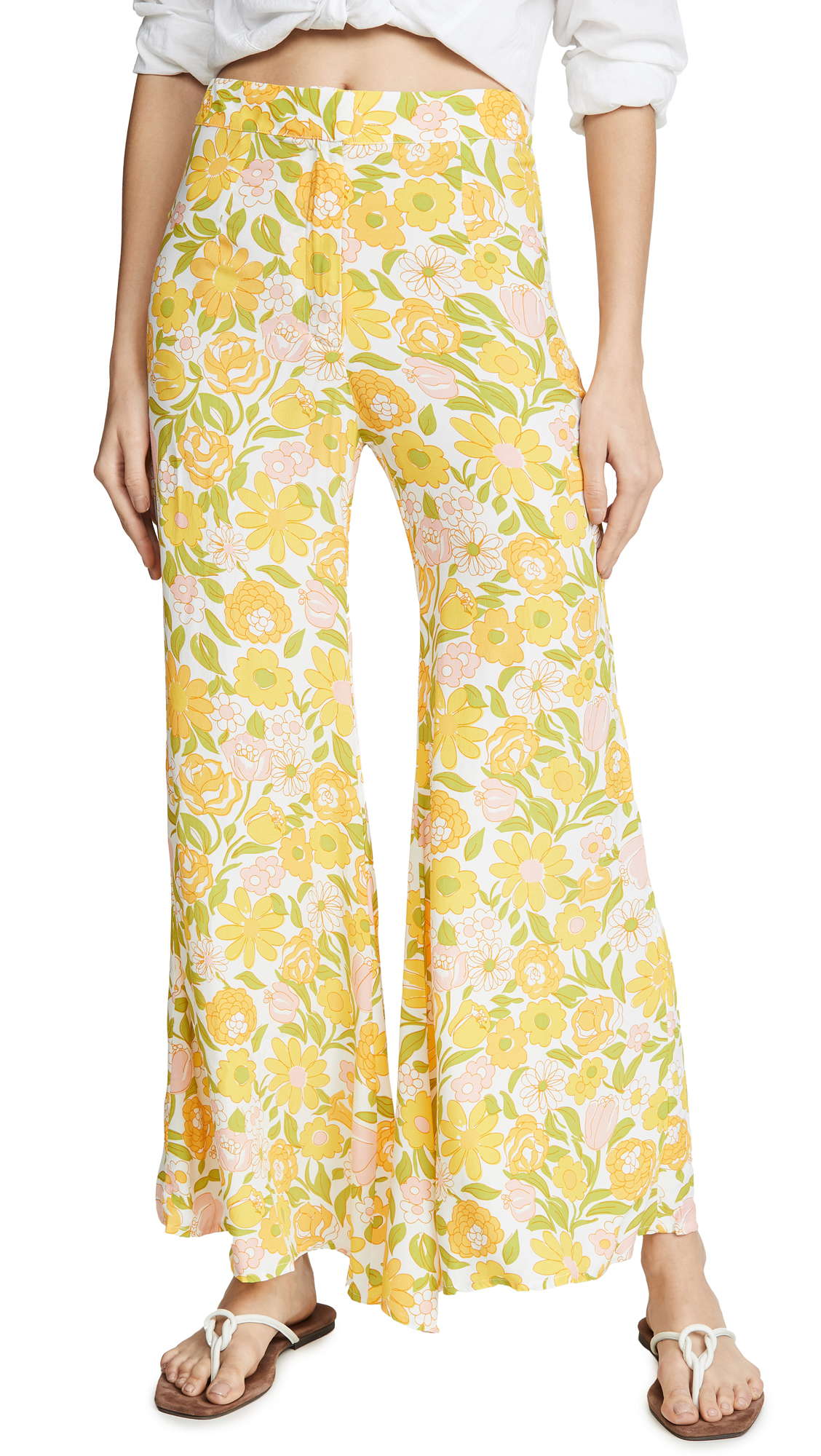 Buy FAITHFULL THE BRAND online - photo of FAITHFULL THE BRAND Marise Pants