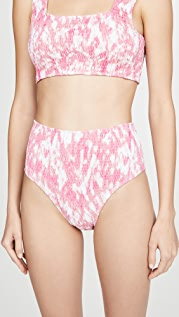 FAITHFULL THE BRAND La Brie Bikini Bottoms