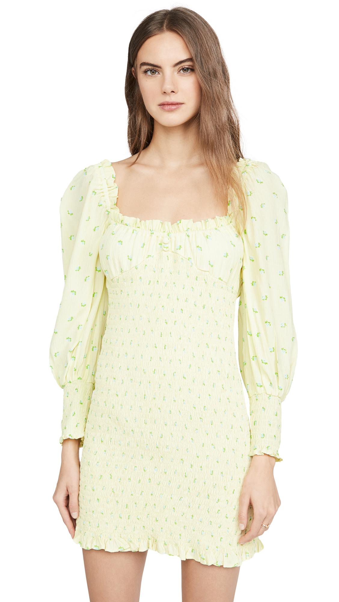 Buy FAITHFULL THE BRAND Gombardy Mini Dress online beautiful FAITHFULL THE BRAND Clothing, Dresses