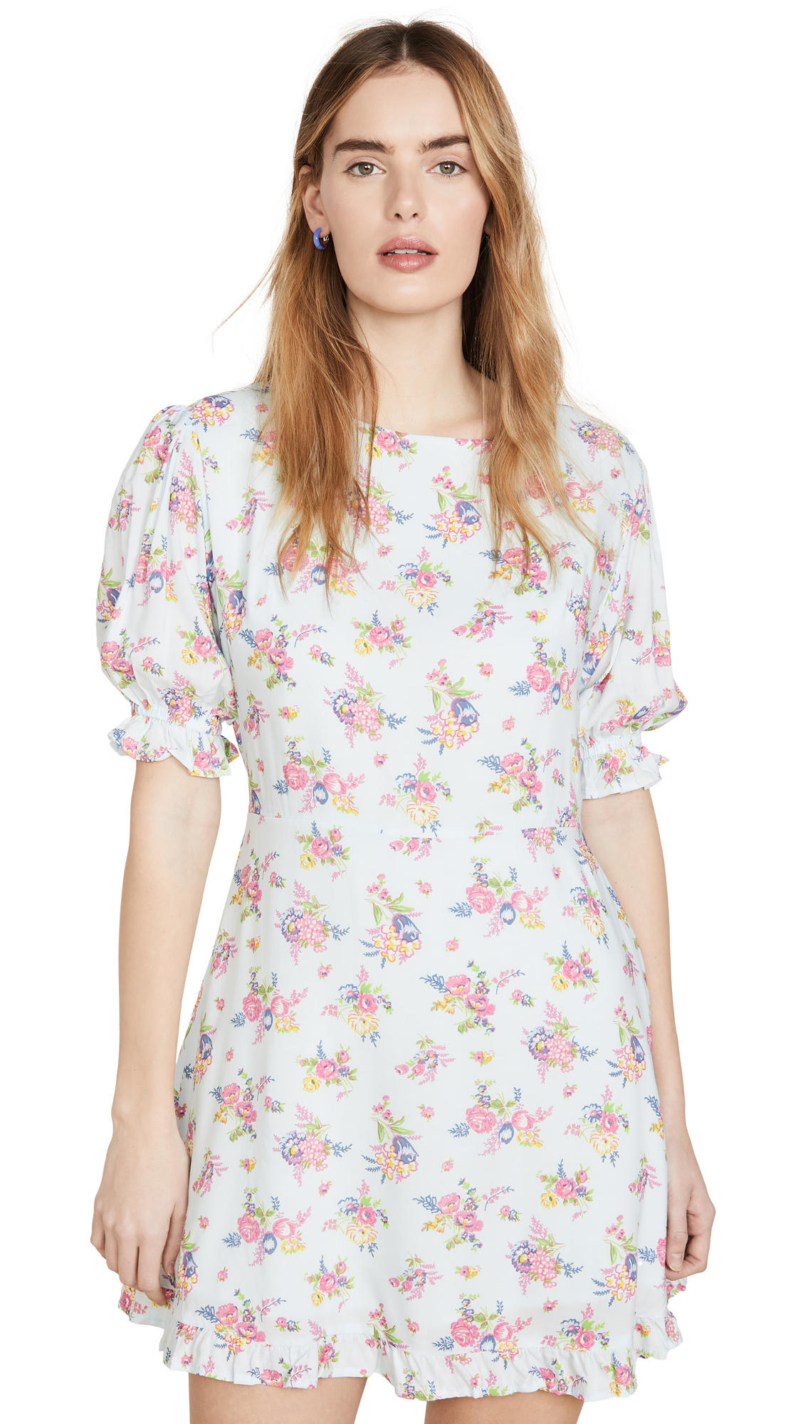 FAITHFULL THE BRAND Florence Mini Dress - 40% Off Sale