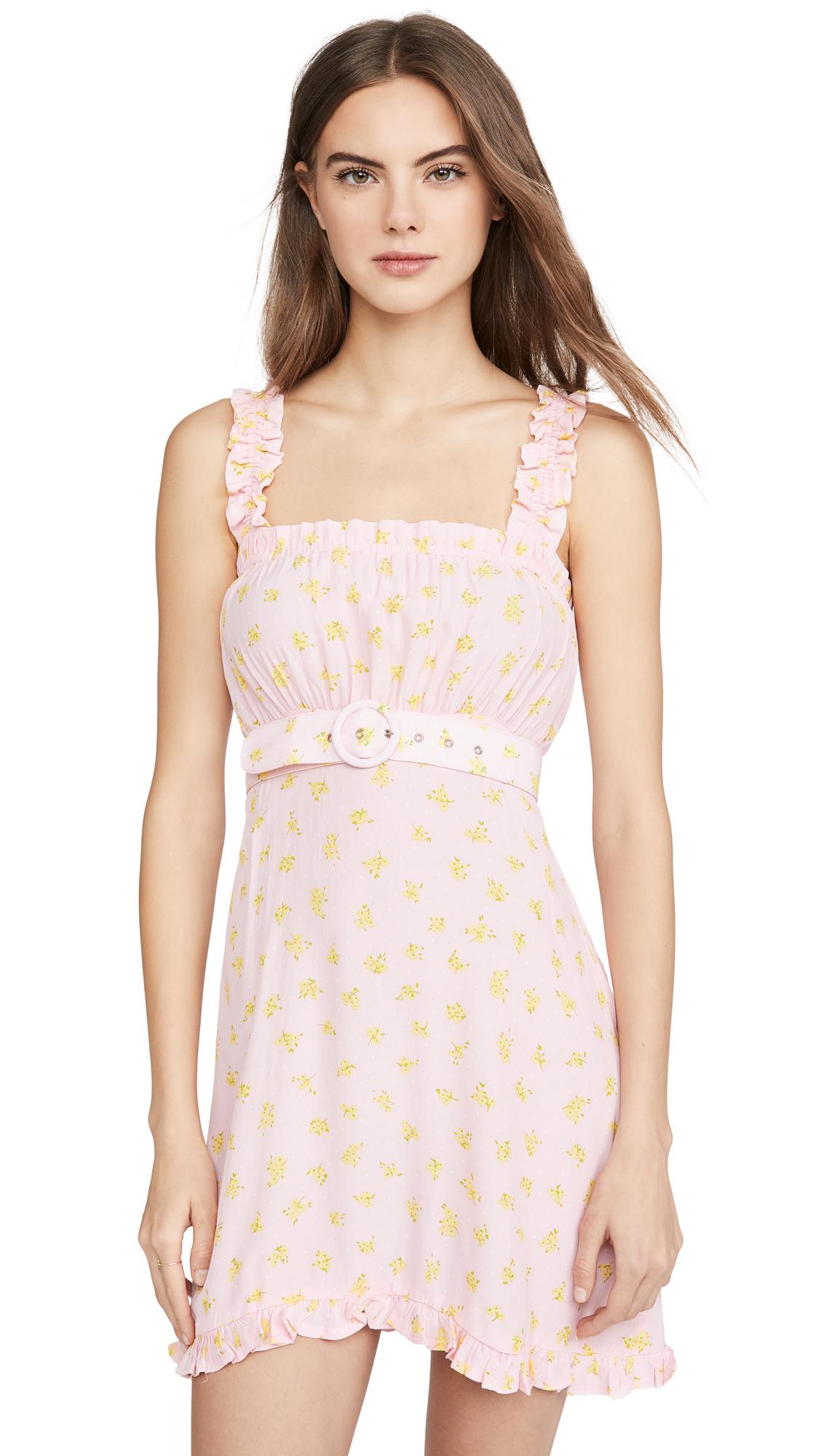 FAITHFULL THE BRAND Mid Summer Mini Dress - 60% Off Sale