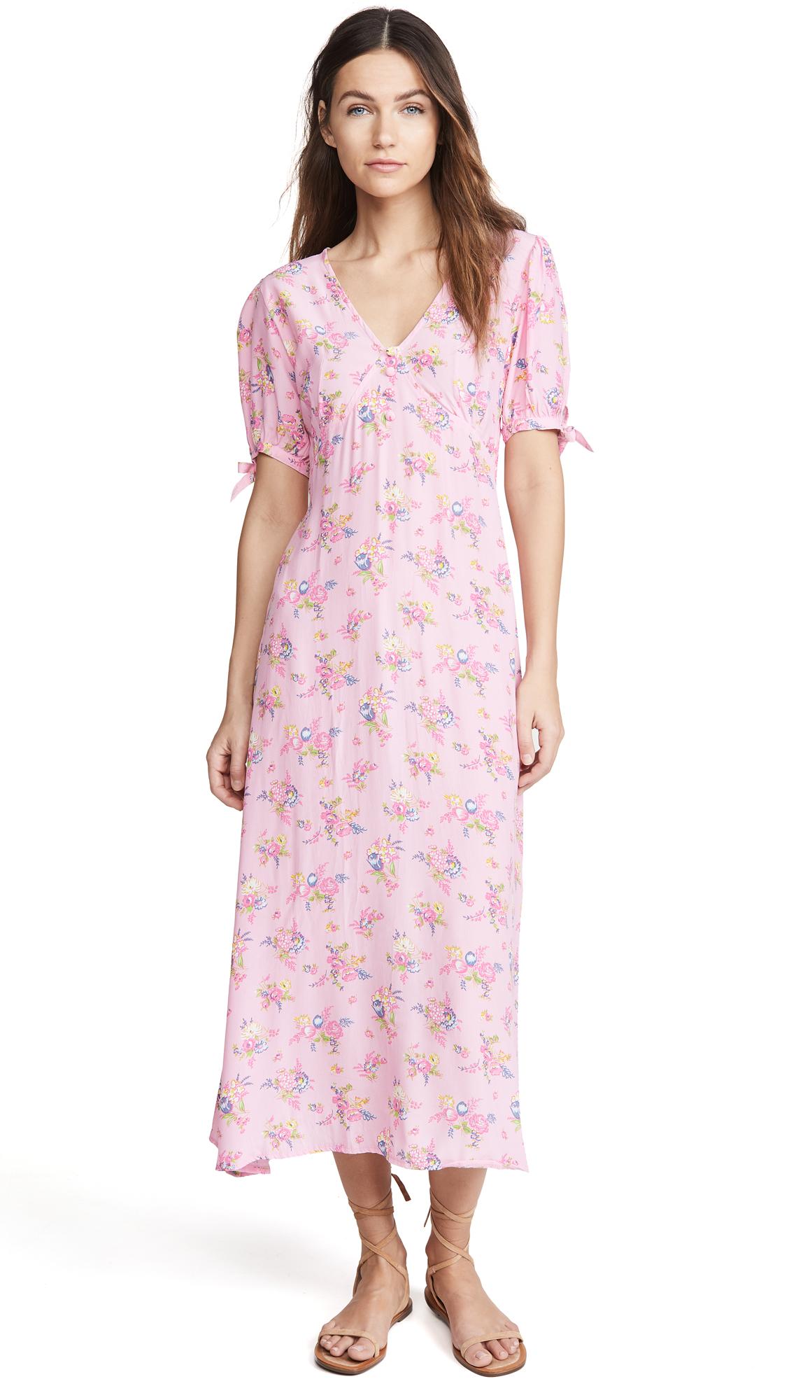 FAITHFULL THE BRAND Daija Midi Dress - 30% Off Sale