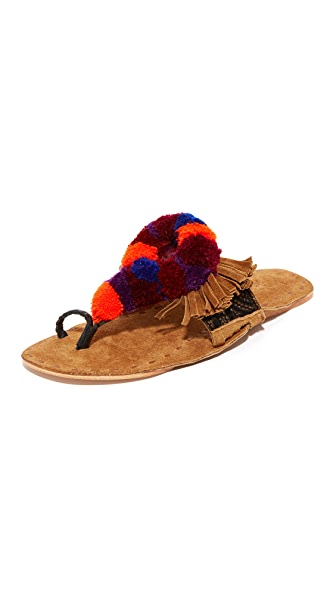 Figue Salome Sandals - Tan Multi