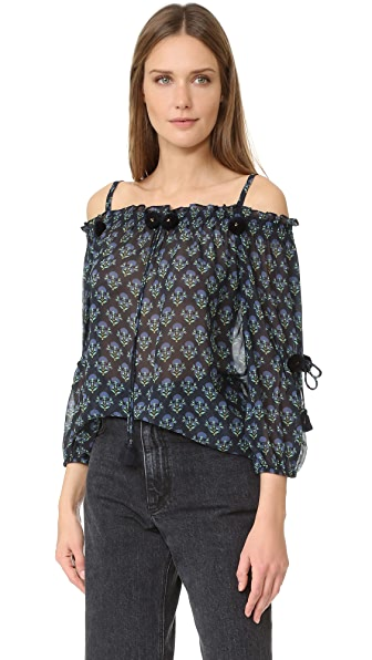Figue Josette Top In Floral
