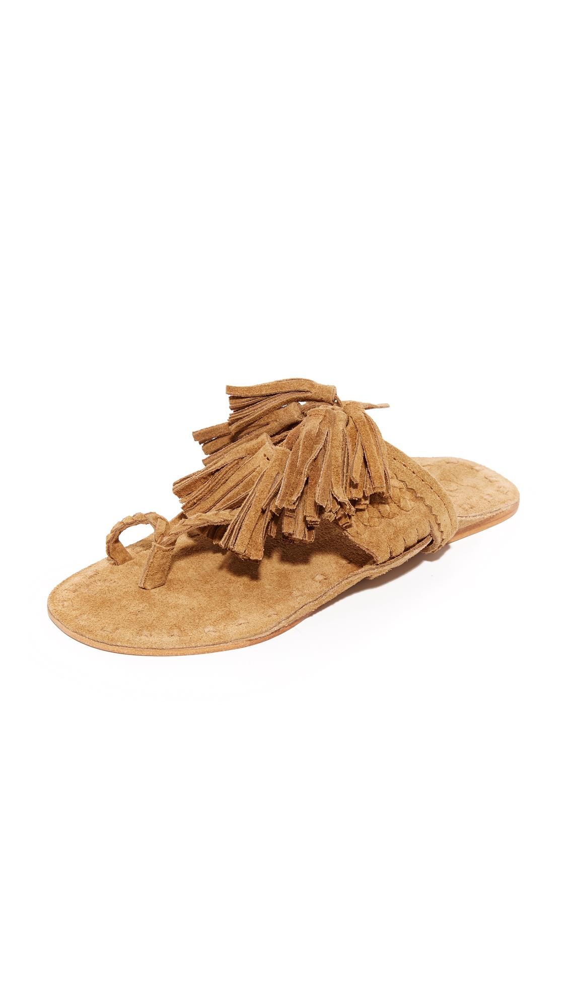 Figue Scaramouche Sandals - Desert Suede