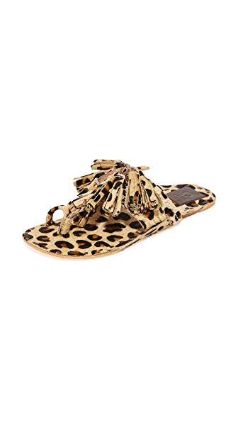 Figue Leopard Haircalf Sandals