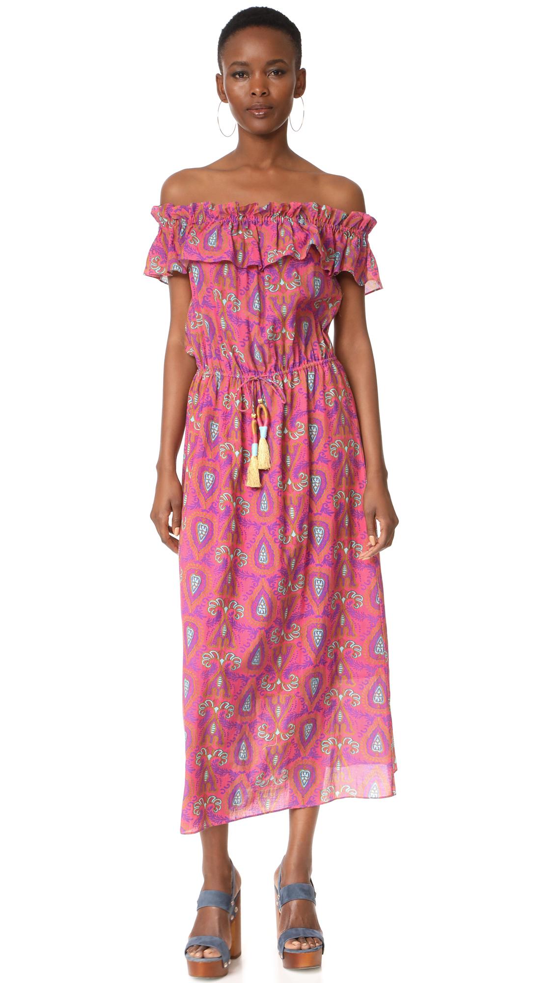 Figue Maya Dress - Ibiza Pink Paisley