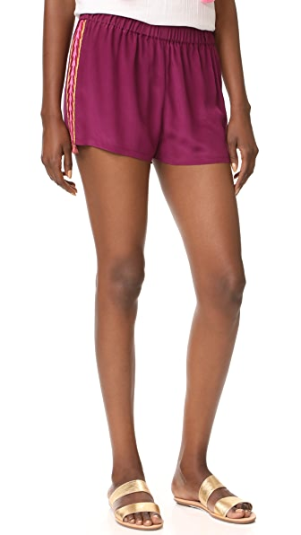 Figue Cassia Shorts In Utopian Plum