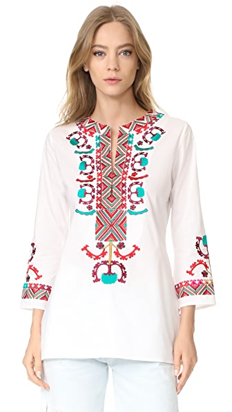 Figue Lisbette Tunic In Clean White