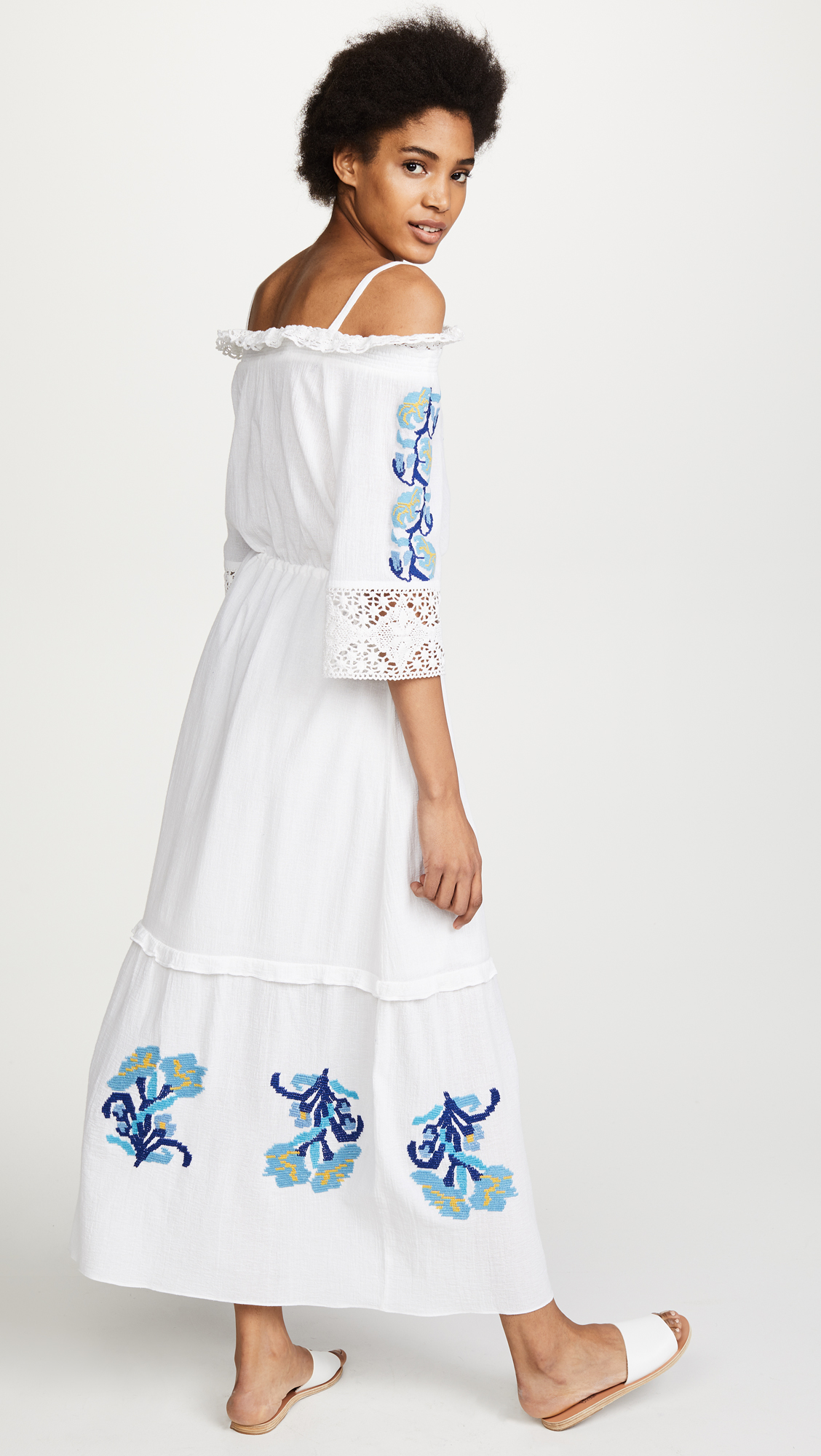 Affordable Cheap Online Eastbay Online Noelle Dress - White Figue Sale Really Genuine hbflvTU6T
