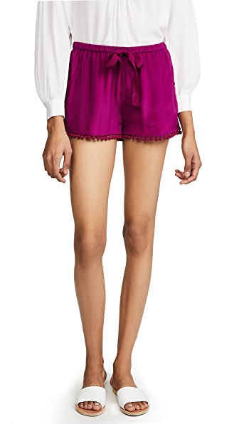 Figue Maja Shorts In Orchid Pink