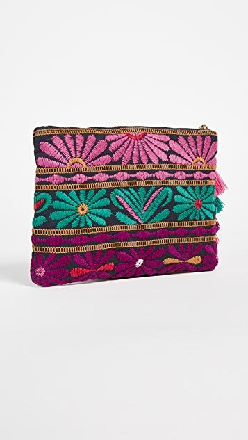 Figue Soma Zip Pouch