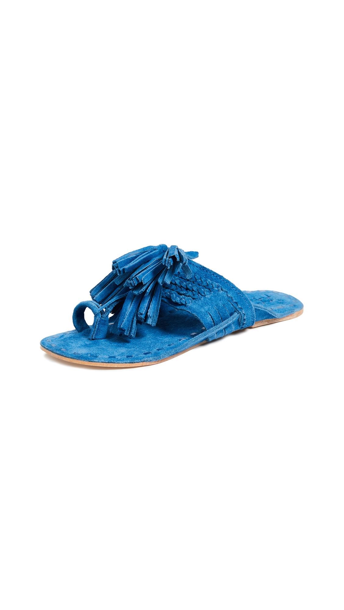 Figue Scaramouche Sandals - Miramar Blue