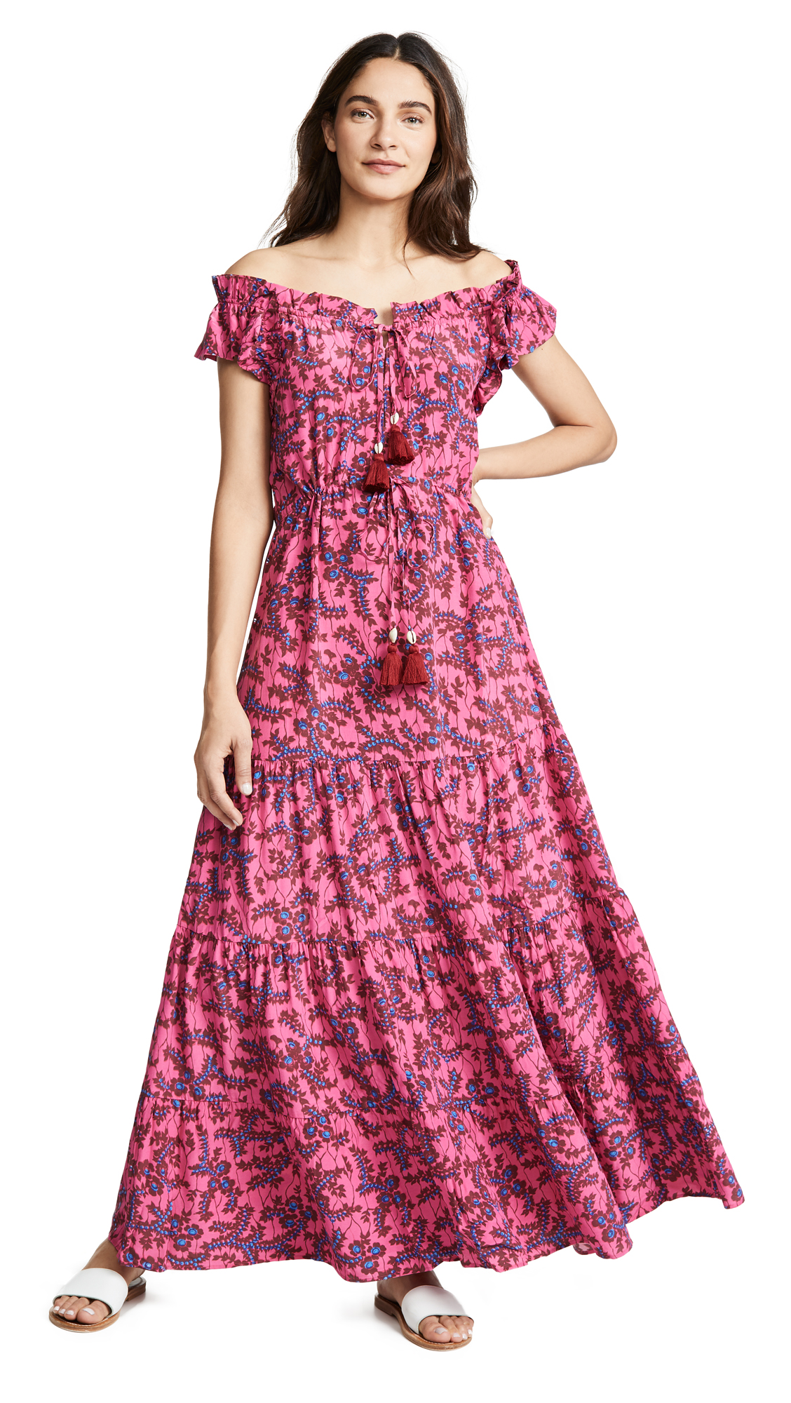 FIGUE Gianna Dress in Pink