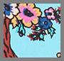 Flowering Tree Turquoise
