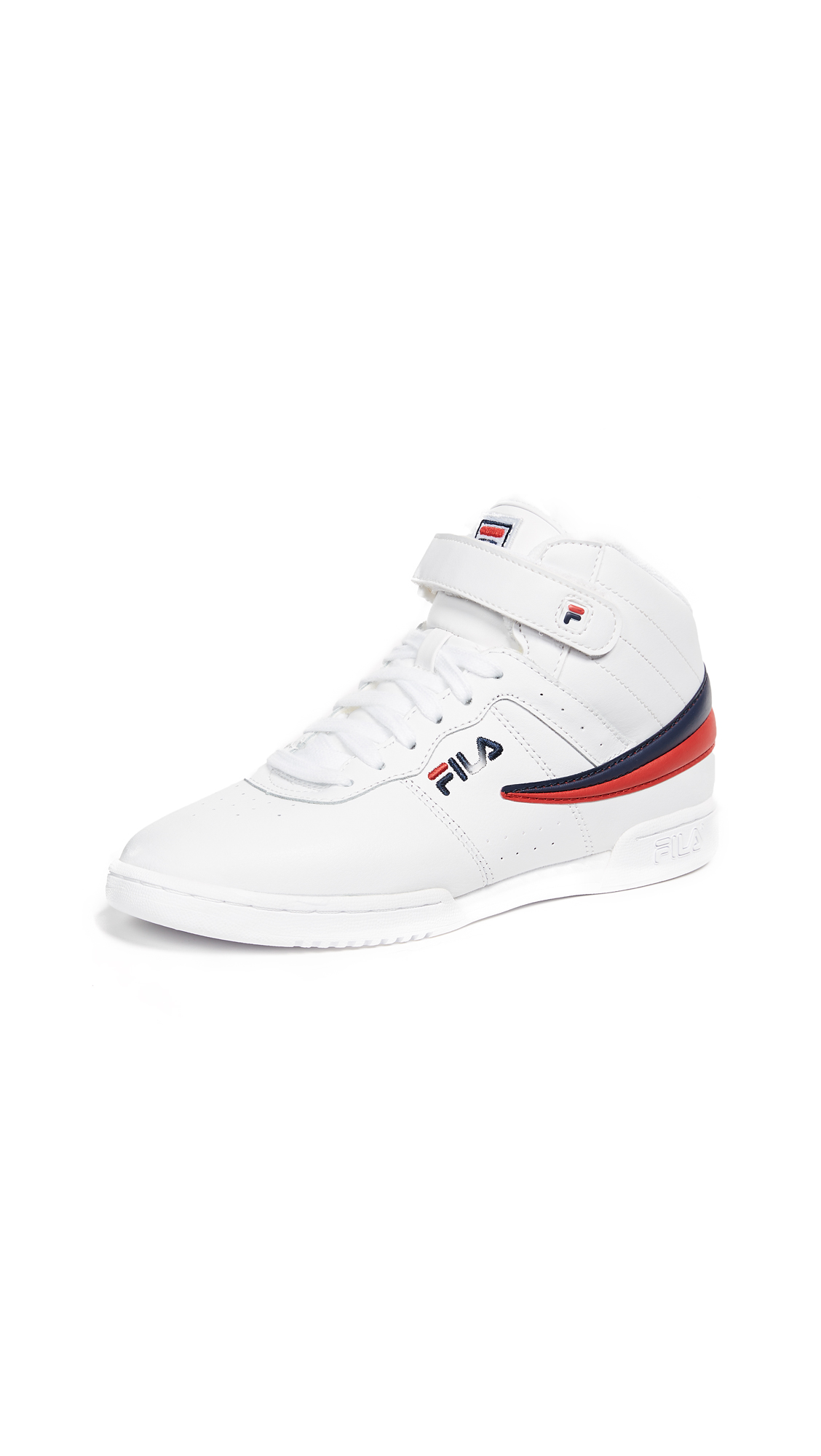 Fila F-13 Sneakers - White/Fila Navy/Fila Red