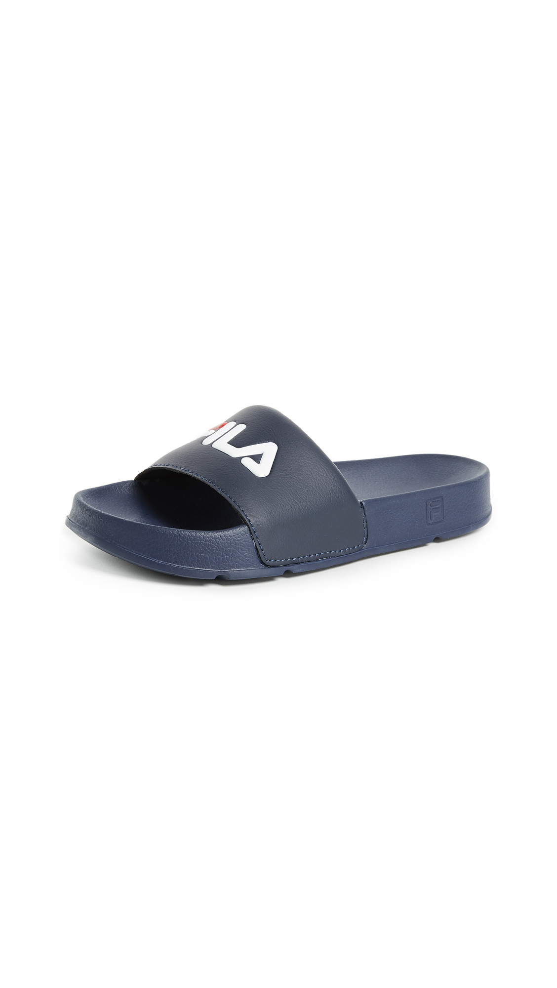 Fila Drifter Slides - Fila Navy/Fila Red/White