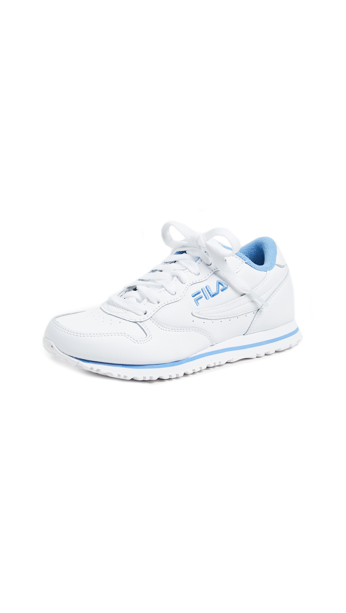 Fila Euro Jogger II - White/Lake Blue/White