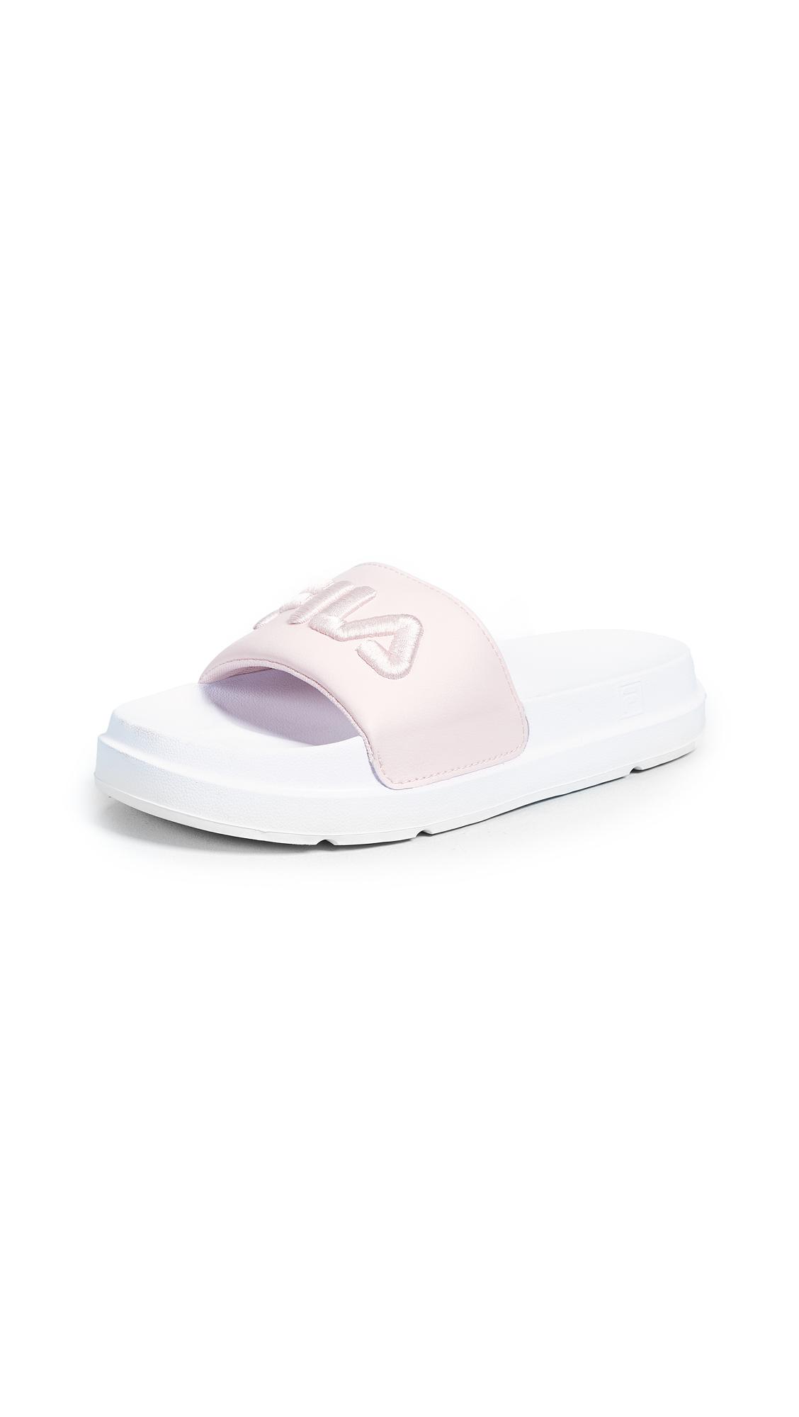 Fila Drifter Bold Slides - Chalk Pink/White