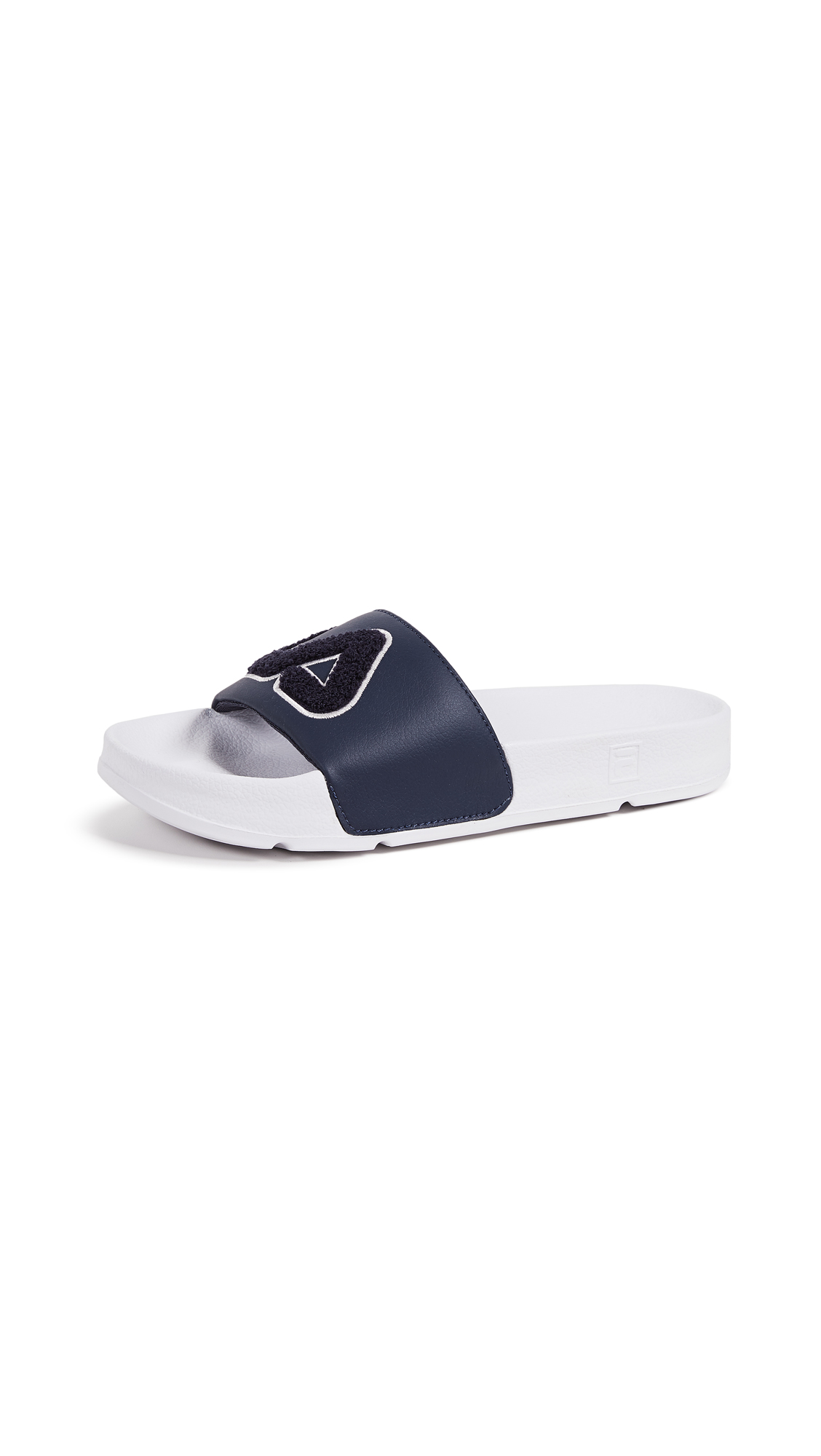 Fila Drifter Varsity Slides - Navy/White