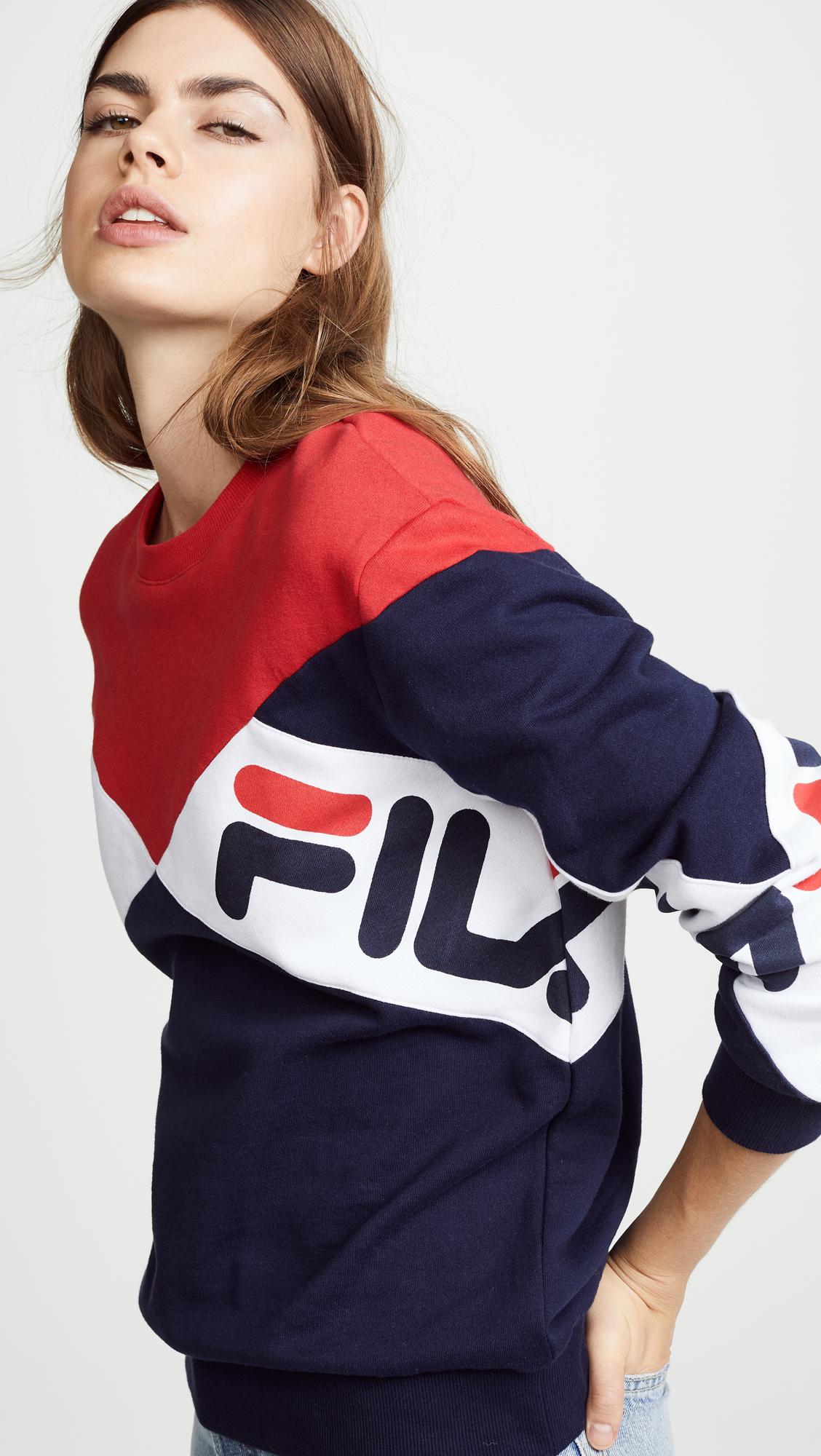 6f2169d2ee99 Fila Lidia Sweatshirt   SHOPBOP