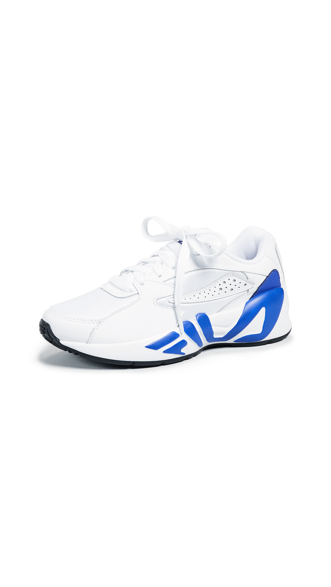Fila Mindblower Vintage Runners - White/Royal Blue/Black