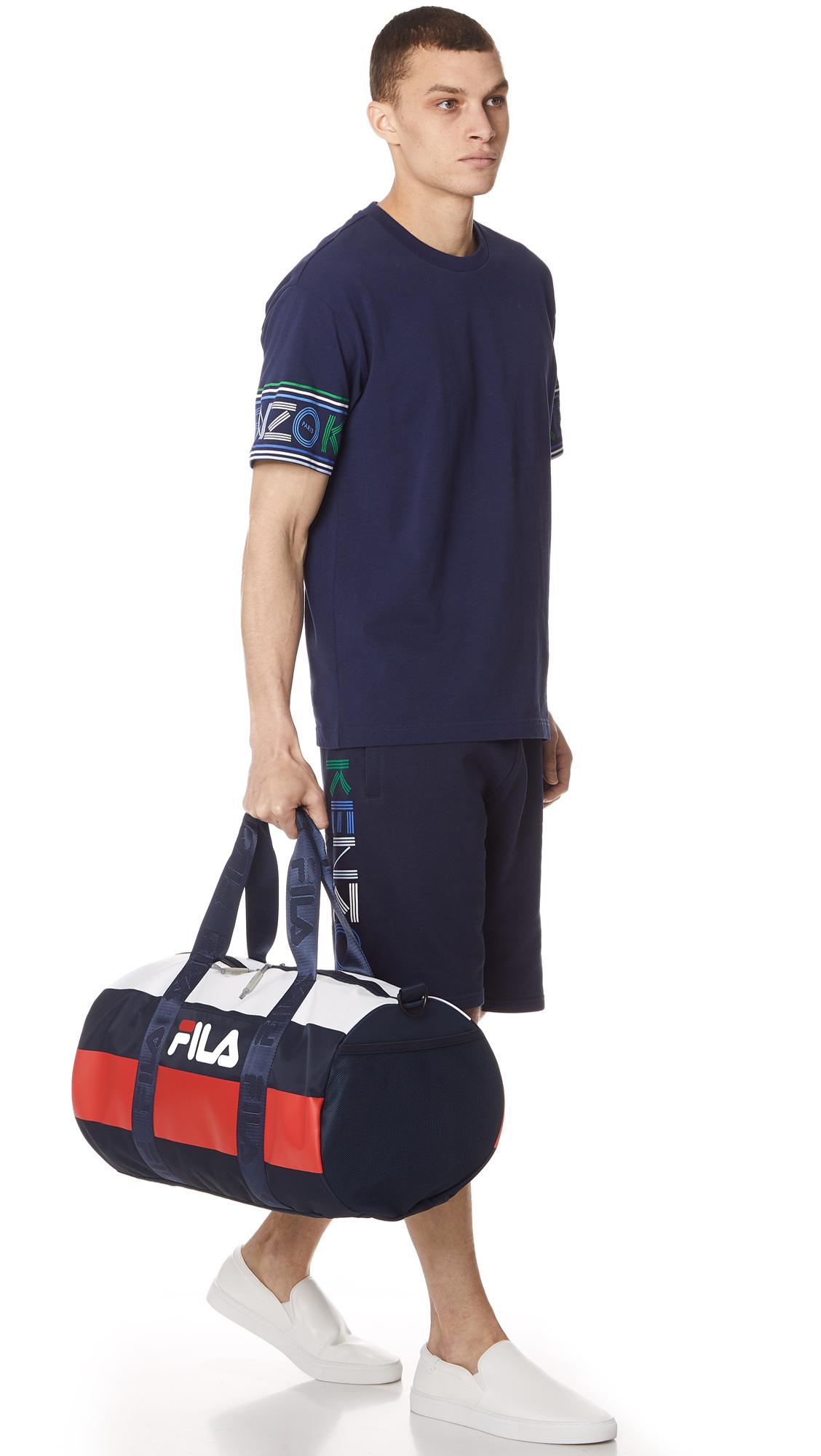 173193474f Fila Major Barrel Duffel Bag