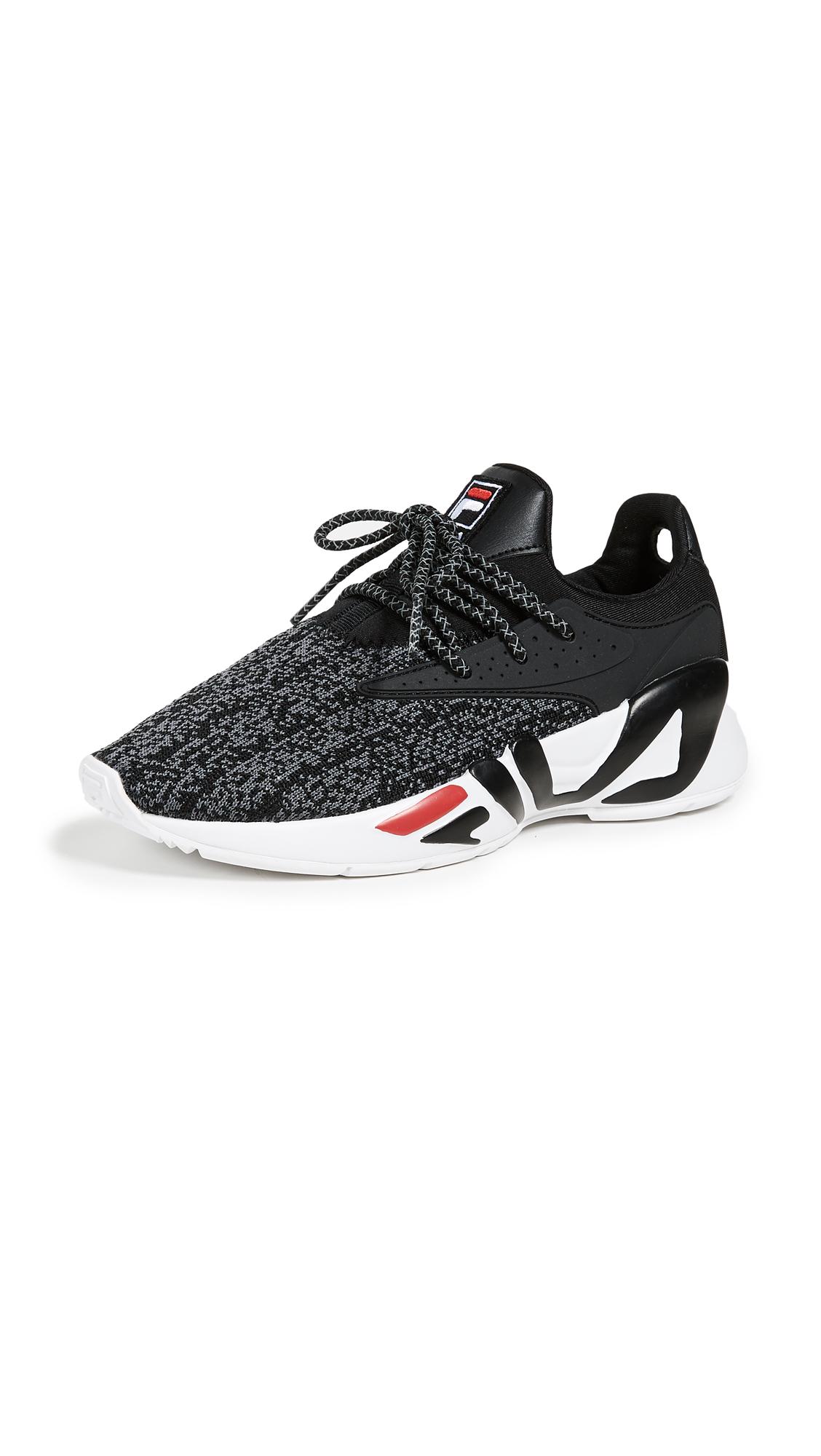 Fila Mindbreaker Sneakers - Black/White/Fila Red
