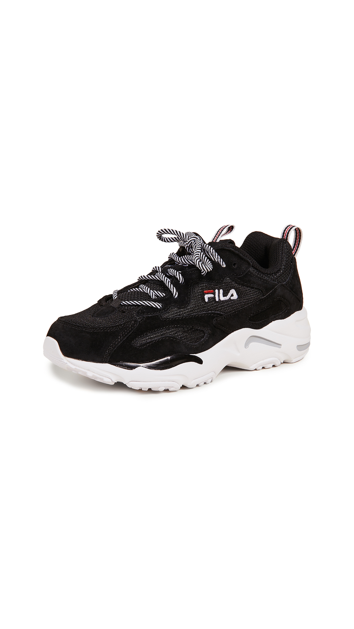 Fila Ray Tracer Sneakers - Black/White/Fila Red