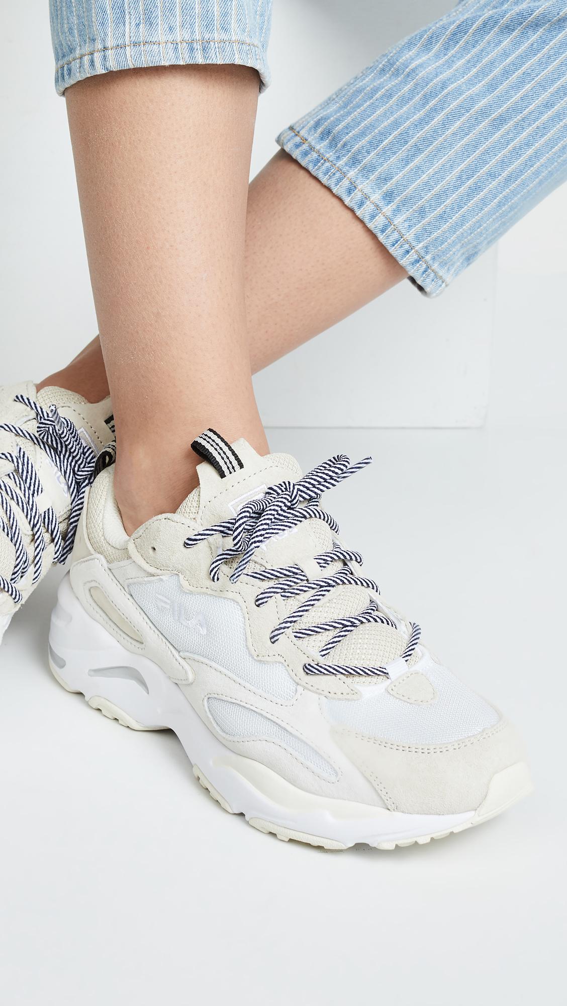 fila ray tracer sneaker beige buy a443d