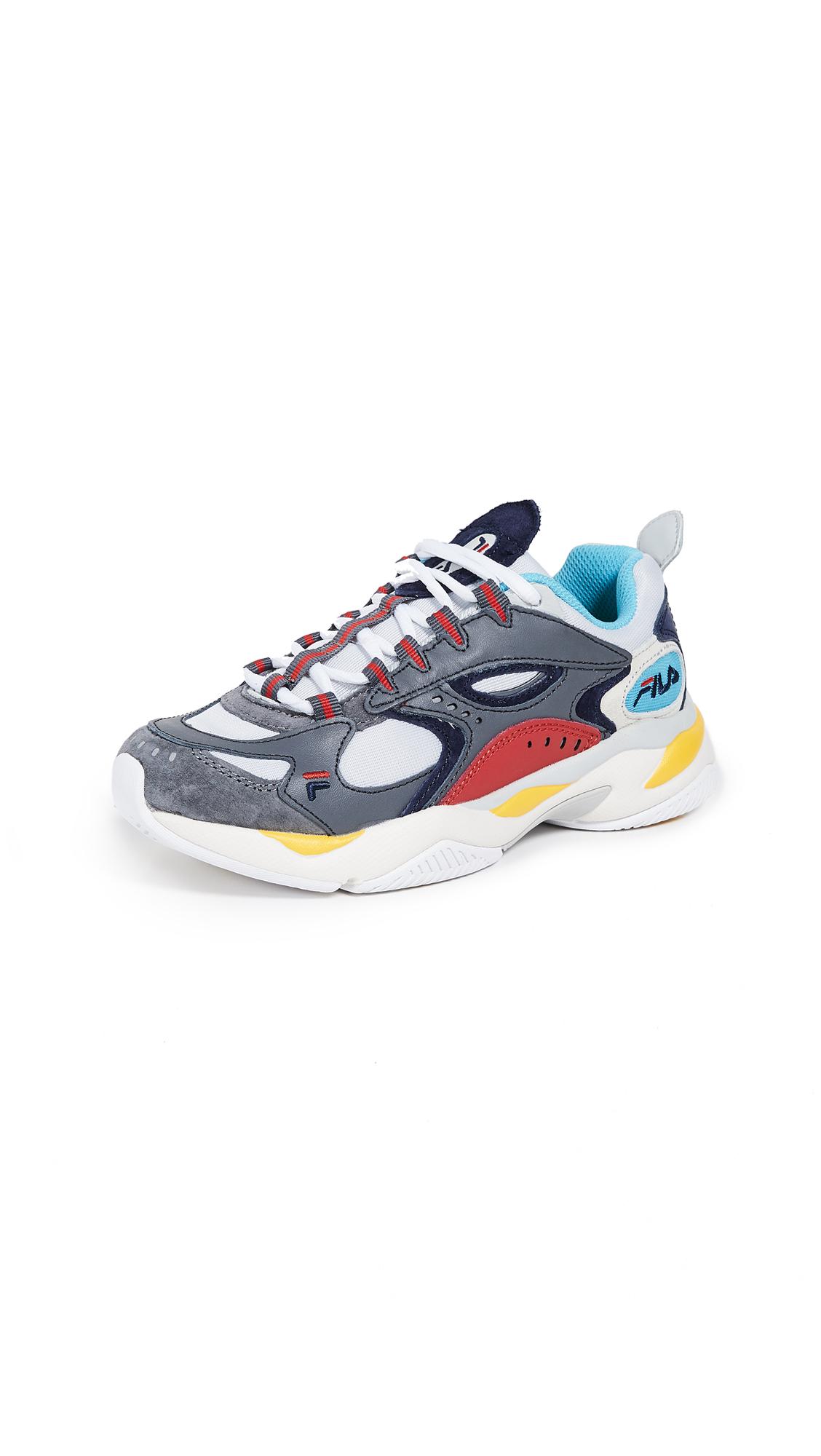 Fila Boveasorus Sneakers - Castlerock/Vapor Blue/Fila Red