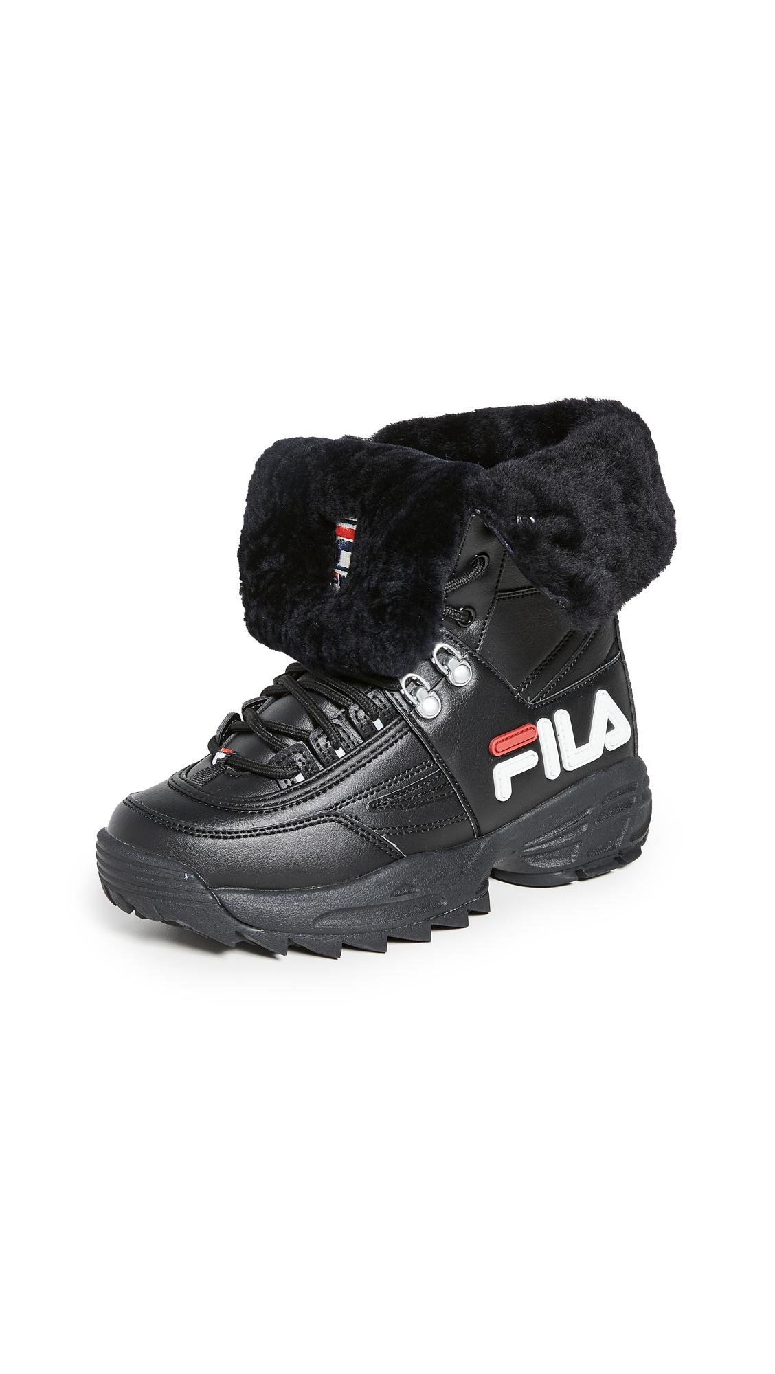 Buy Fila Disruptor Boots online, shop Fila