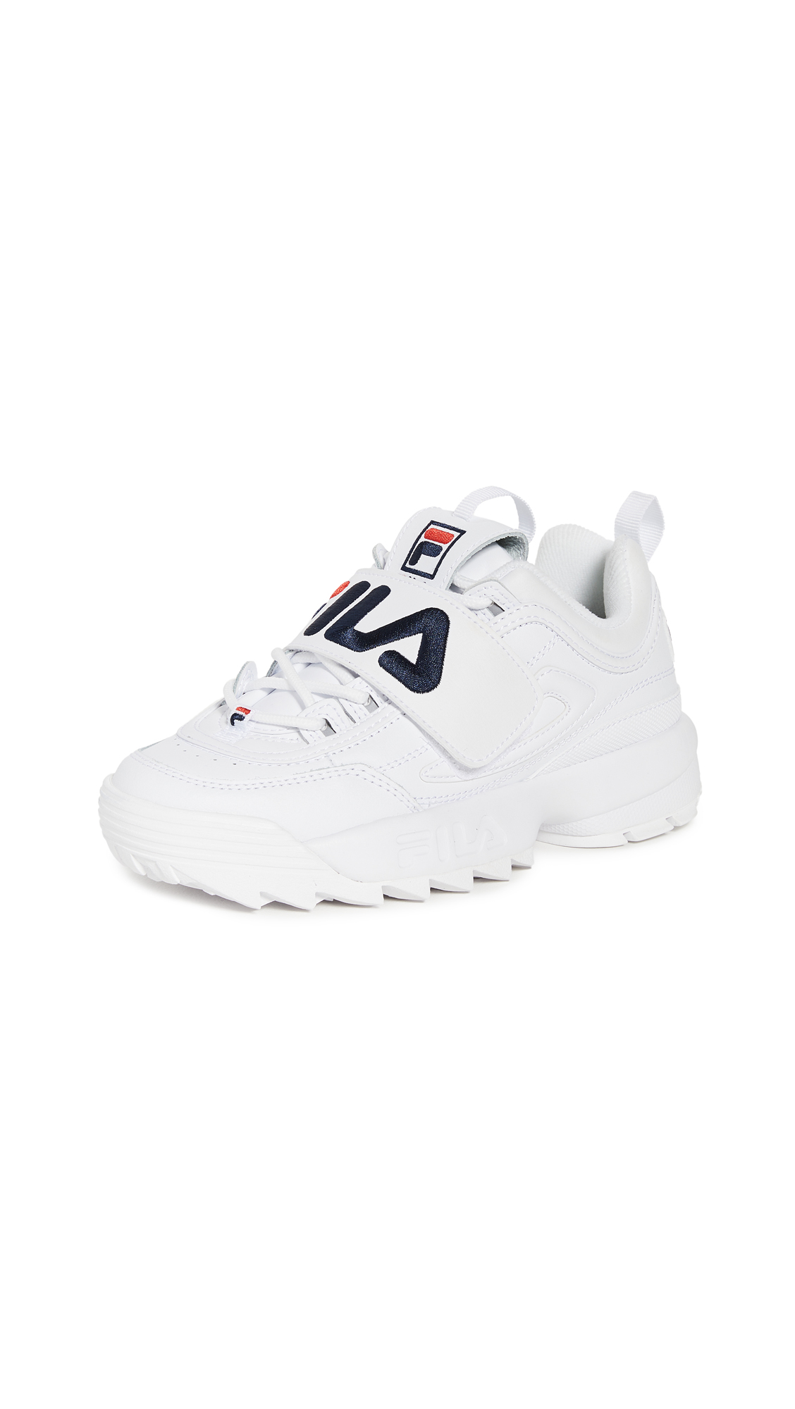Buy Fila online - photo of Fila Disruptor II Applique Sneakers