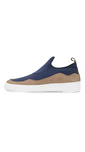 Filling Pieces Slide Pull On Sneakers