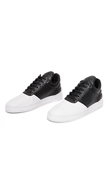 Filling Pieces Low Top Diagonal Sneakers