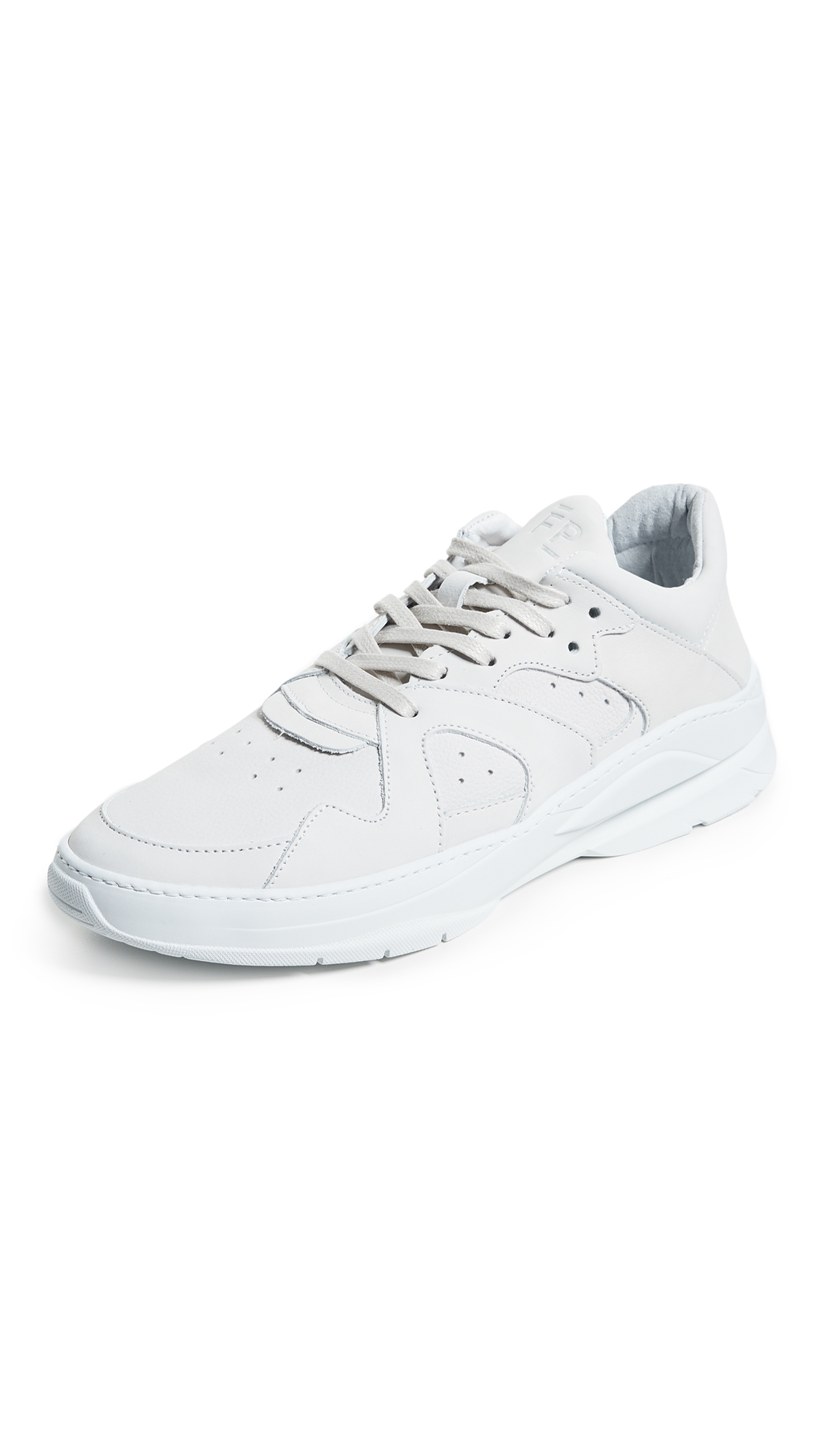 Filling Pieces Denver Tracking Cosmo Flash Sneakers In White ... 57079581ffa