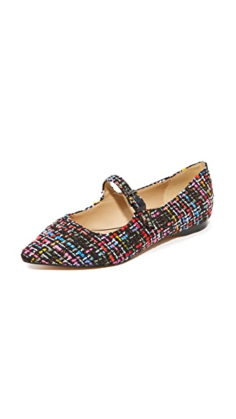 The Fix Estrella1 Strappy Flats - Black Multi
