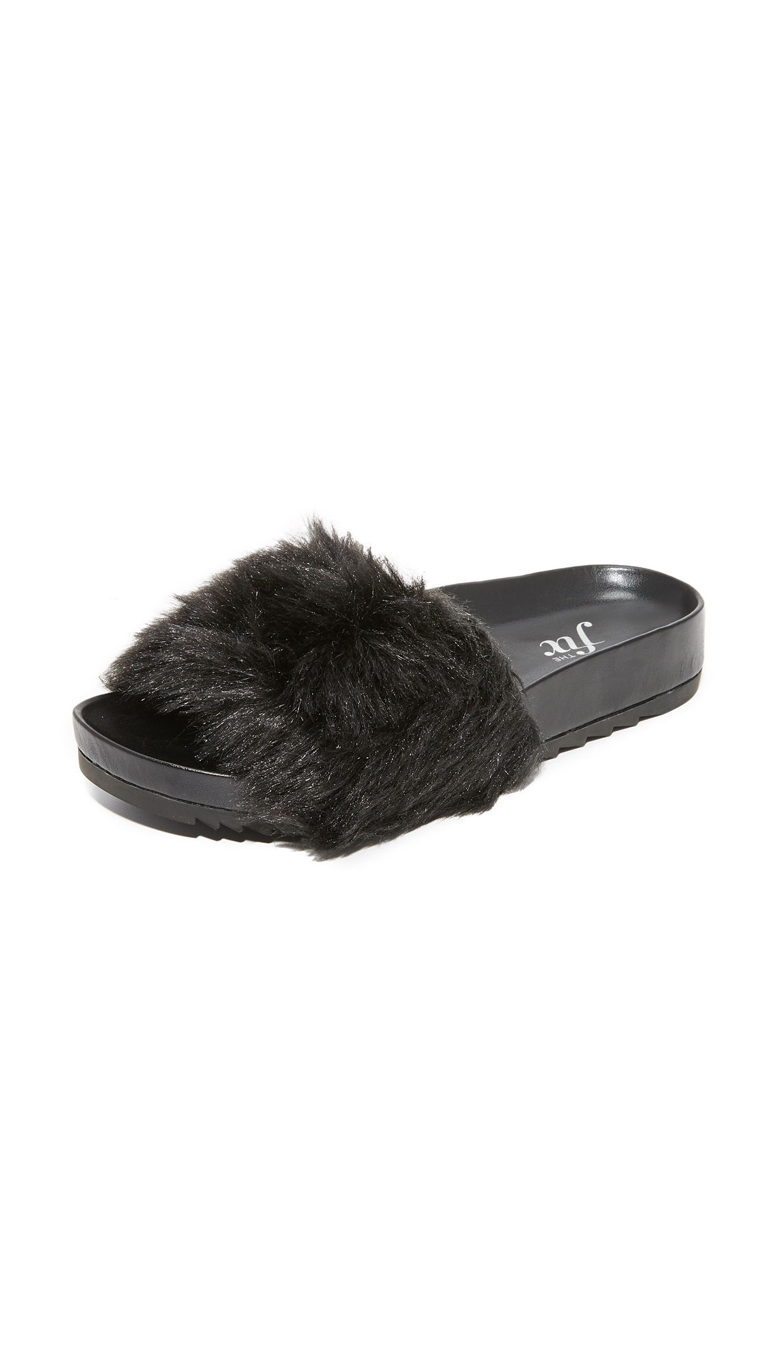 The Fix Ursula Slides - Black