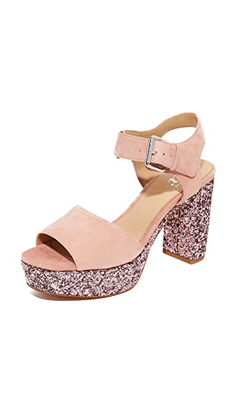 The Fix Farah Platform Sandal Pumps - Petal Blush