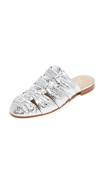 The Fix Oliviah Mules - Silver