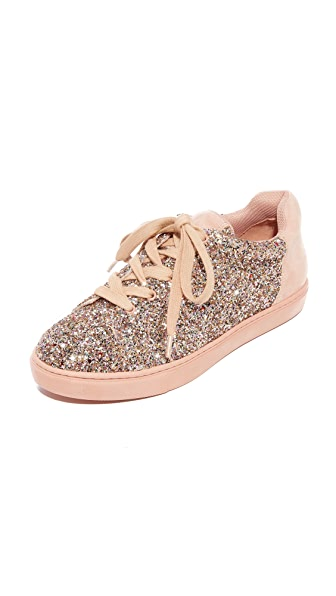 The Fix Taegan Platform Sneakers - Pink Speckle/Petal Blush