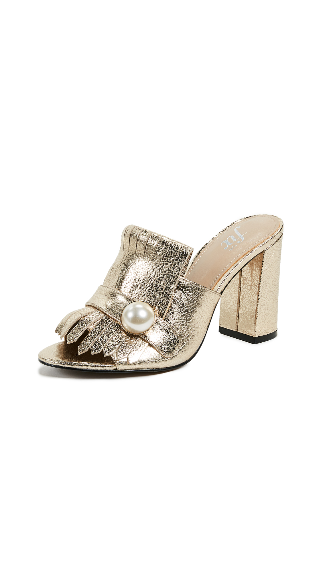 The Fix Guliana Mules - Gold